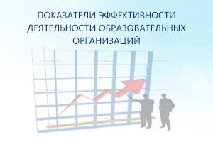 Показатели эффективности образовательных организаций